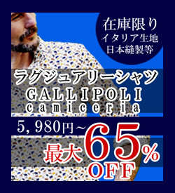 GALLIPOLI gallipori ガリポリ shirt