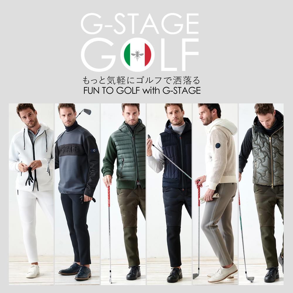 G-STAGE GOLF,ジーステージゴルフ,ゴルフ,コーディネート
